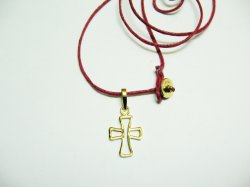 HANDMADE CROSS, 14K GOLD, IS STRICTLY UNIQUE PIECE.