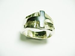 HAND MADE BISHOP'S RING,SILVER 925 .SPECIAL ORDER.