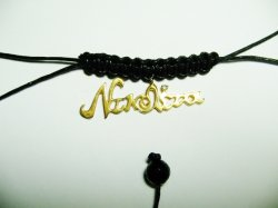 HAND MADE NAME  PENDANT.